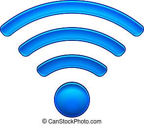 Wireless Netzwerk Symbol WiFi Icon