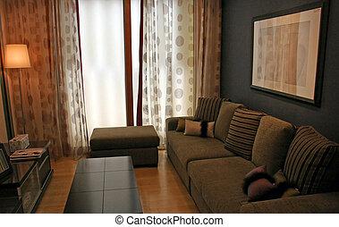 Wohnzimmer - Innenraum.