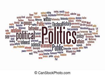 wolke, politik, text