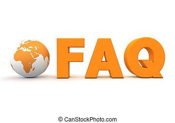 World FAQ Orange