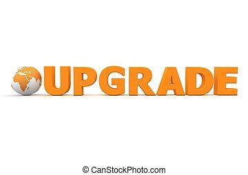 World Upgrade Orange.