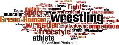 Wrestling Wortwolke