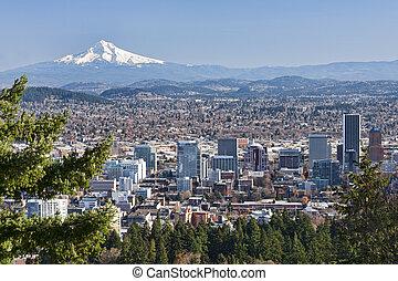 Wunderschöne Vista von Portland, Eregon