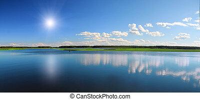Wunderschöner See