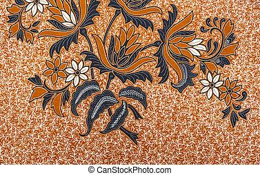 Wunderschönes Batikmuster