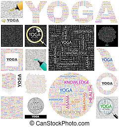 Yoga. Concept Illustration.