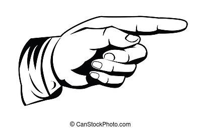 Zeige Hand