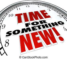 Zeit für eine neue Aktualisierung der Uhr.