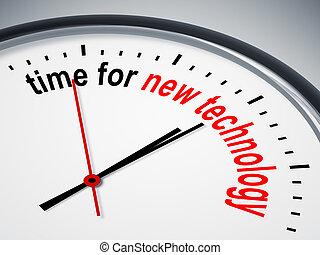 Zeit für neue Technologien