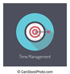 Zeitmanagement Illustration Konzept