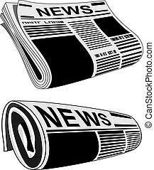 Zeitungsvektor
