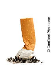 zigarette, restberg