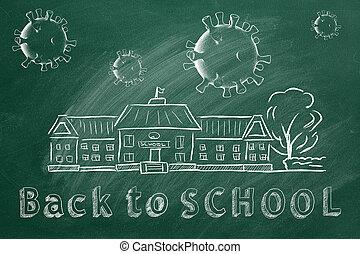 zurück, schule